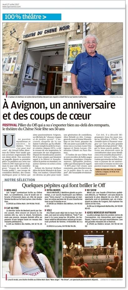 VOLE! Coup de coeur de la Provence