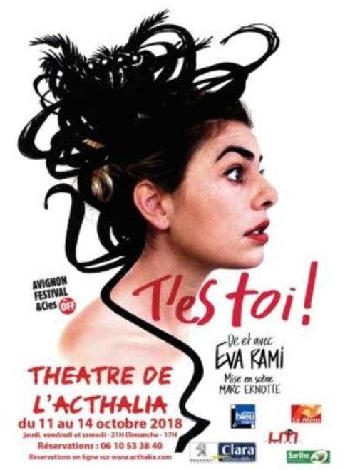 EVA RAMI Théâtre de l'ACTHALIA